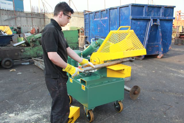 JMC McIntyre 407 alligator shear for metal cutting