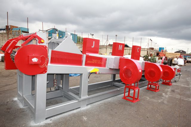 Leviathan aluminum ingot casting machine ready for delivery