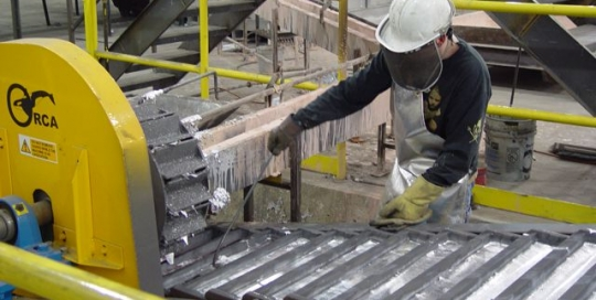 JMC Orca ingot casting machine