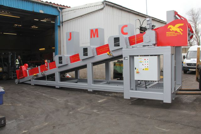 Pegasus aluminum ingot casting machine ready for delivery