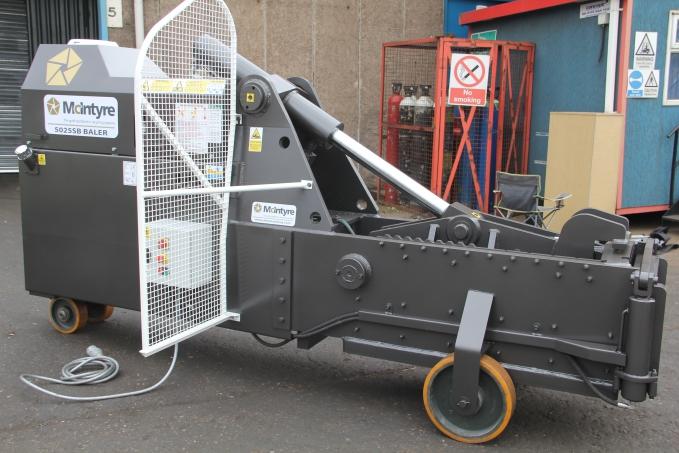 McIntyre 5025SB scrap metal baler