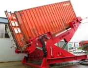 MiTilt container unloader from A-Ward