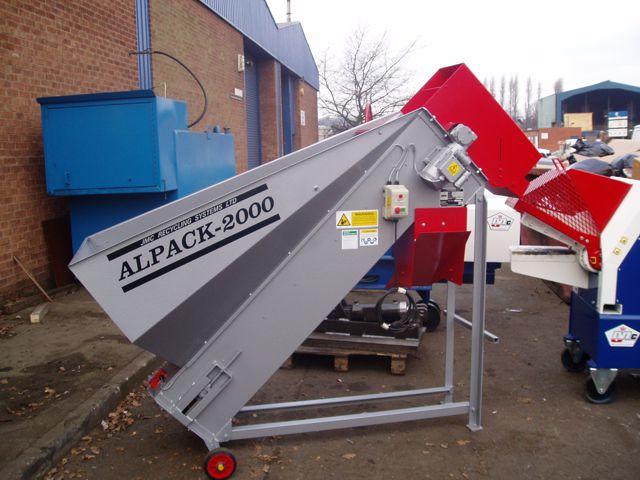 Alpack 2000 aluminium steel can sorter