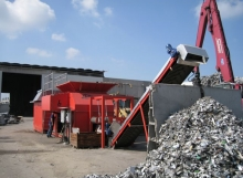 Bano manufacture large scale industrial shredders