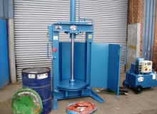 JMC 45 gallon drum crusher
