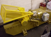Used Lefort C600 scrap yard shear