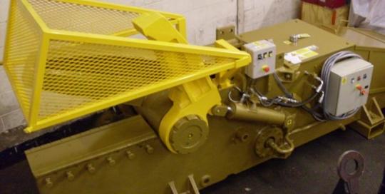 Used Lefort C600 scrap yard shear