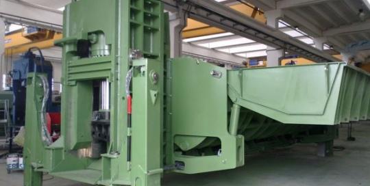 Idromec 650 tonne CLS shear baler