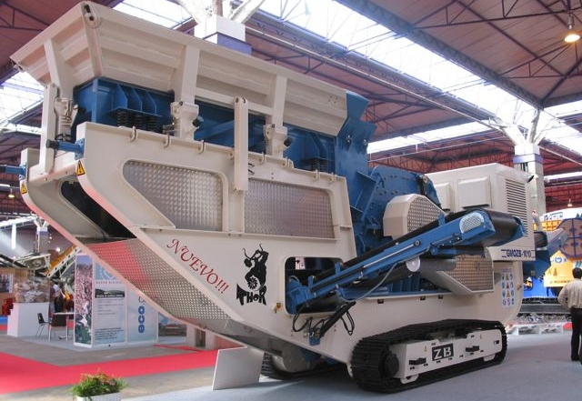 Latest mobile shredder to be demonstrated in Spain