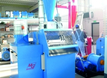 Used Matrix Cable granulator for sale