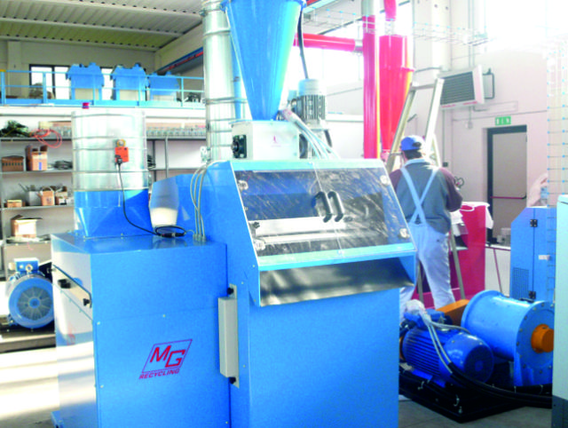 Used Matrix Cable granulation system for sale