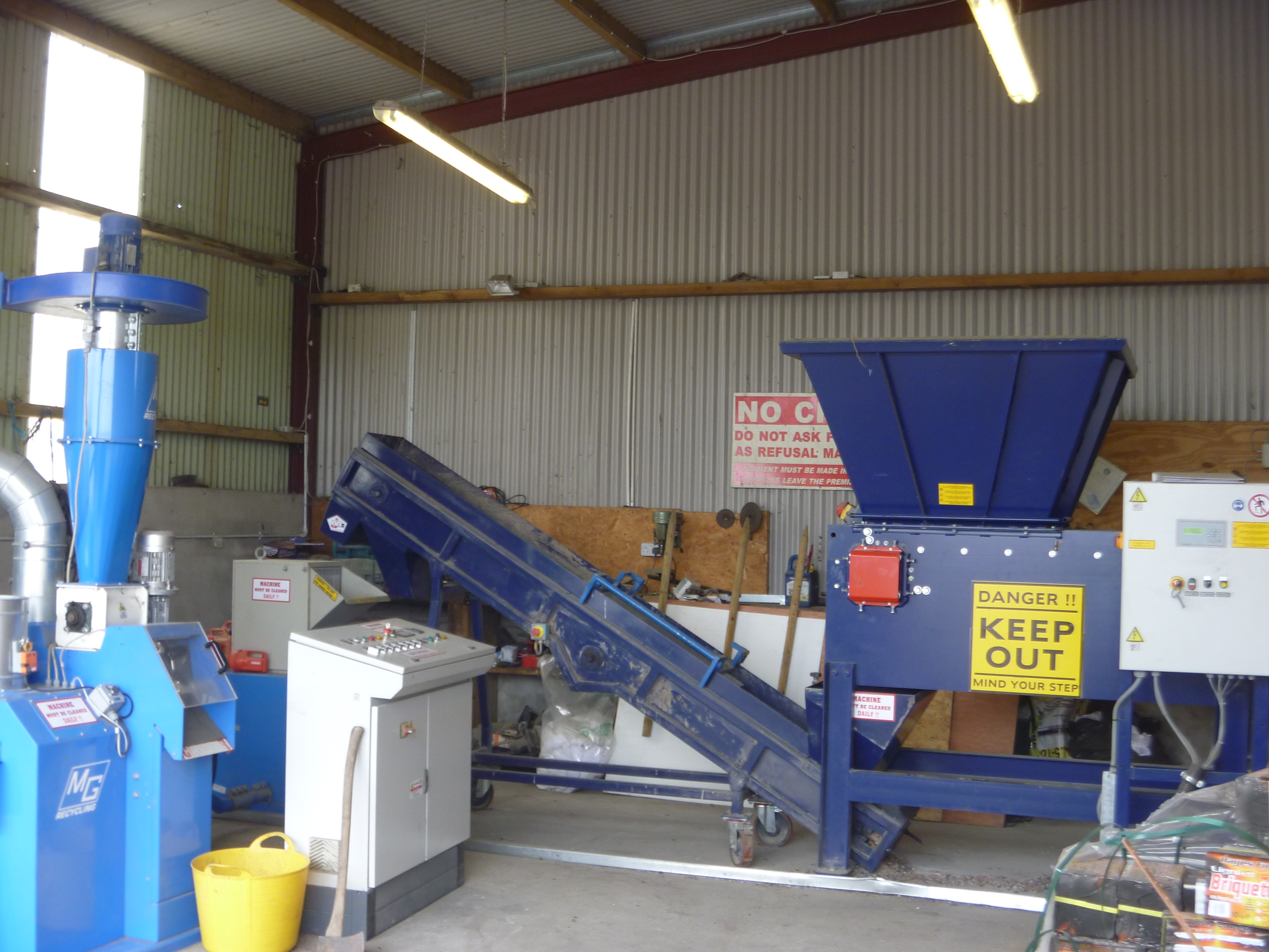 Used cable granulator for sale UK