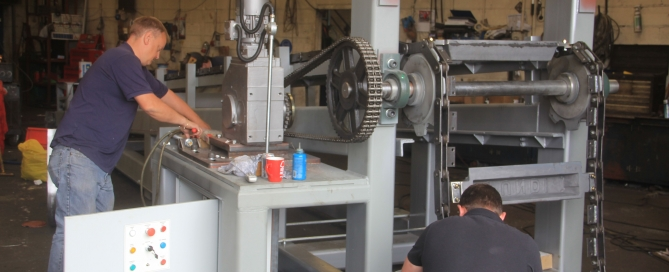 Casting Machine production 2