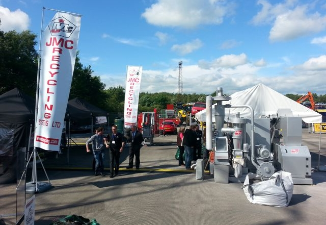 Cars 2014 car recycling expo – and the sun came out in Doncaster