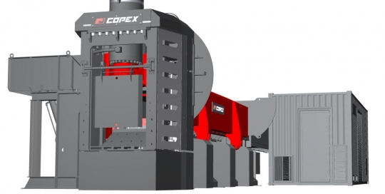 Copex S Wing shear baler