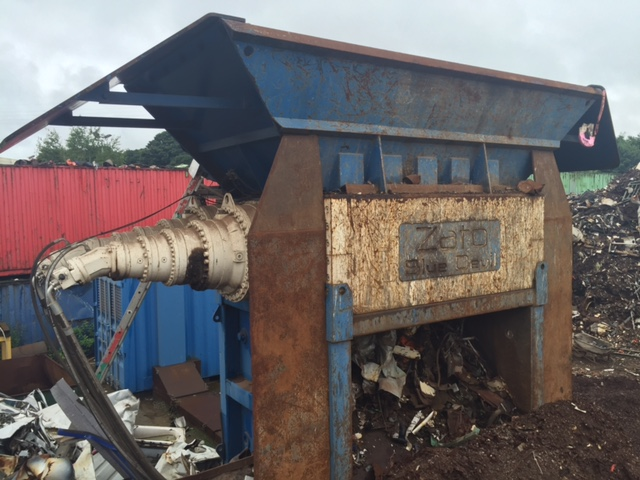ato GF4000 Twin Shaft Shredder for sale