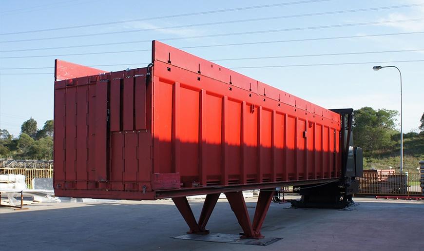 A-Ward horizontal loader helps Capral maximise profits through exports