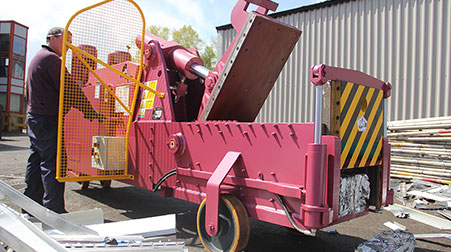 McIntyre 5025 Bigfoot Metal Baler