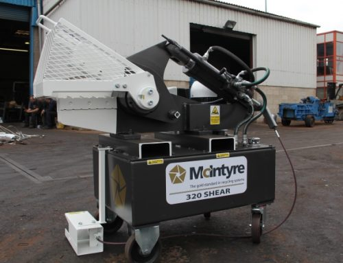 McIntyre 320 Hydraulic Alligator Shear