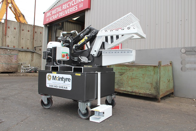 McIntyre 500HD Alligator shear