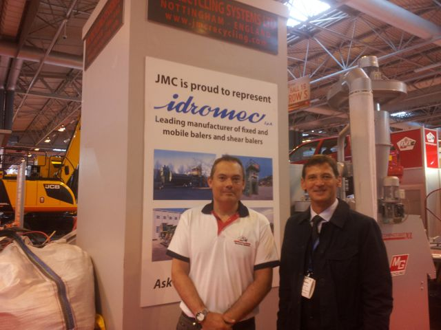 Phillip Pownall of JMC with Roberto Tabarelli from Idromec