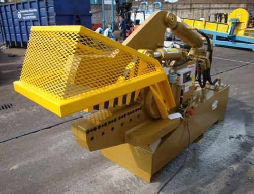 McIntyre 640-240T 240 Tonne Alligator Shear