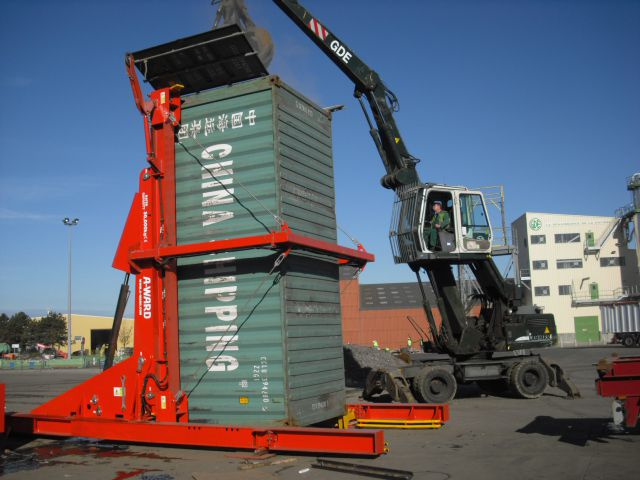 20 40 Ft Tilting Container Loaders Mitilt