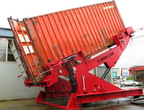 A-Ward Universal Container Tilter