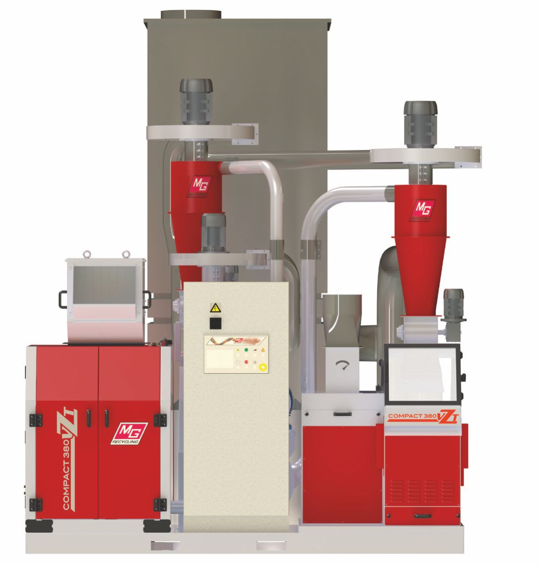 Matrix 380vzt cable granulator