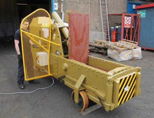 Used McIntyre 5025SB Metal Baler