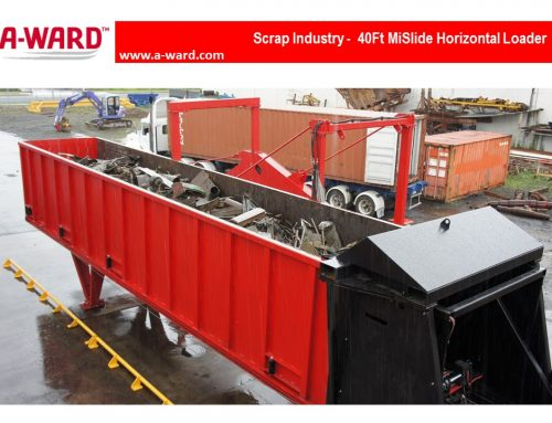 A-WARD's MiSlide Container Loader Makes Sense to Sims
