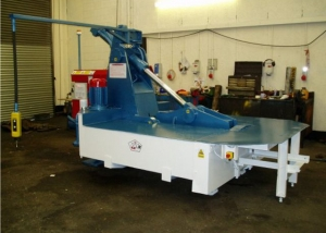 McIntyre Mantis scrap metal baler for ferrous and non ferrous scrap
