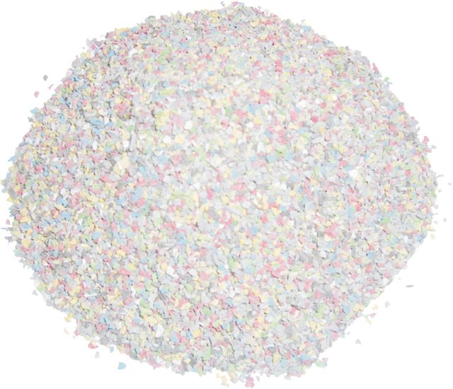 vibrating sieve production of plastic pellets