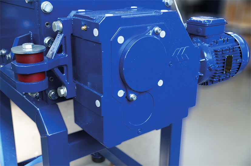 Wagner hard drive shredder gearbox