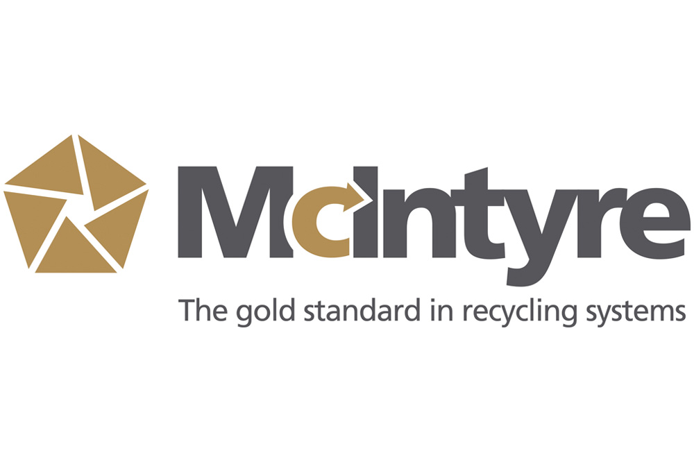 McIntyre recycling equipment logo