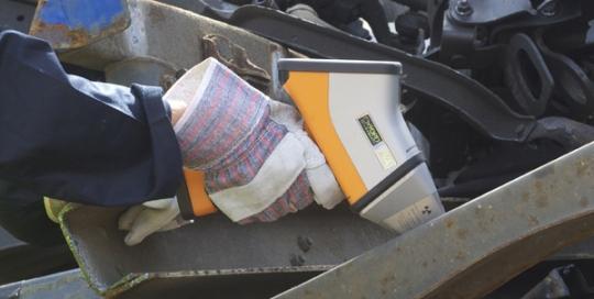 xrf analyser for scrap metal