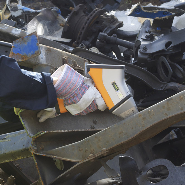 xrf analyser for scrap metal