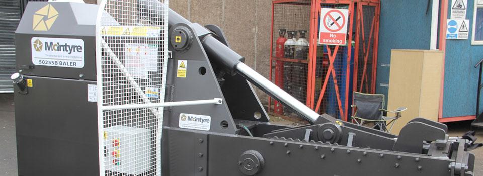 JMC McIntyre 5025 Hydraulic Baler