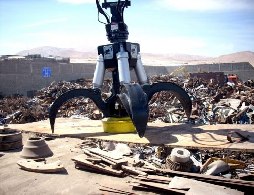 Scrap metal handling grabs – Rotobec
