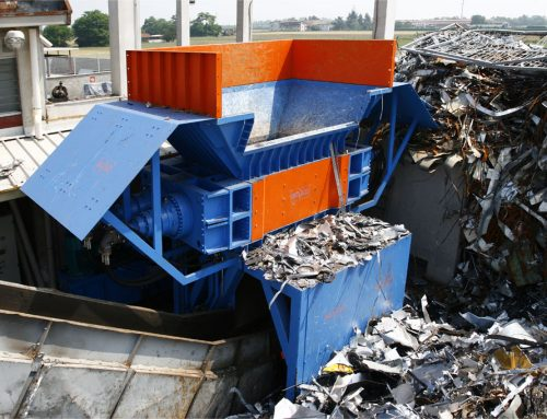 Forrec FX Series Shredders for scrap metal and cars