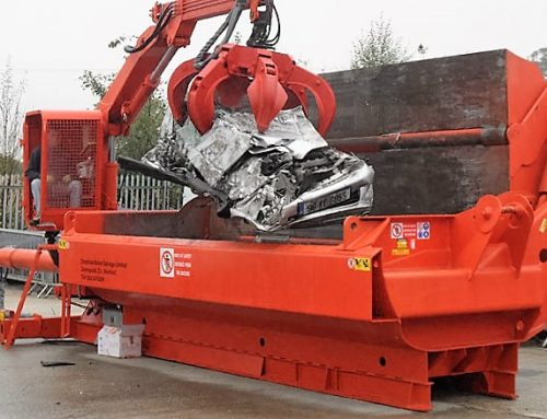 Special Offer – Bonfiglioli Ariete Car Baler with Crane