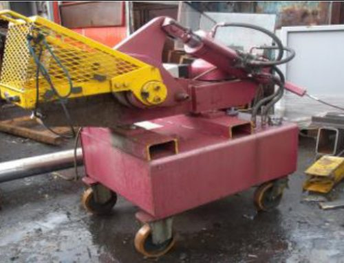 Sold – McIntyre 407 Hydraulic Alligator Shear