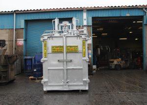 TARDIS 1062 aluminium dross press