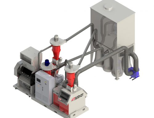 MG Matrix 610 Cable Granulator