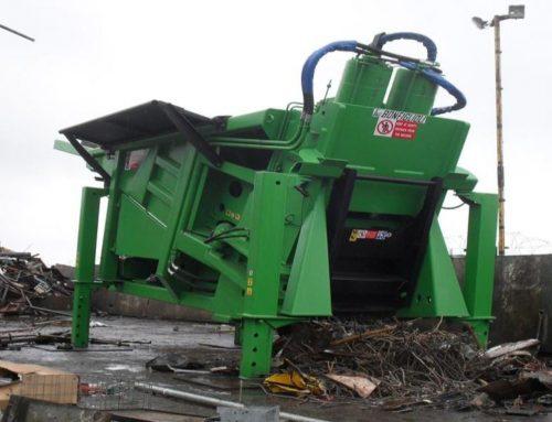 Bonfiglioli Squalo 2000 tonne scrap shear