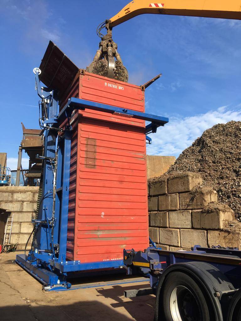 A-Ward container tilter UK